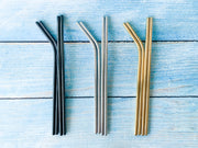 Metallic Reusable Straws