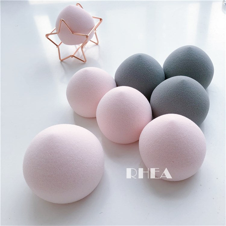 1 Pc Cosmetic Puff Peach Shape Makeup Sponge Concealer Blending Face Foundation Cream Blending Powder Cover Water Spread Smooth