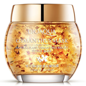 BIOAQUA Natural osmanthus Sleeping Mask Hydrating Oil Control Bright Petals Mask Skin Care