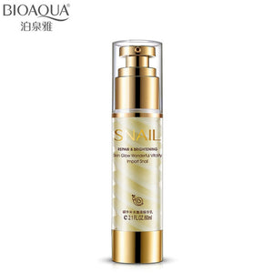 BIOAQUA High Quality Snail Hydrating Rejuvenation Cream Whitening Moisturizing Anti Aging Firming Lift Skin Essence Lotion