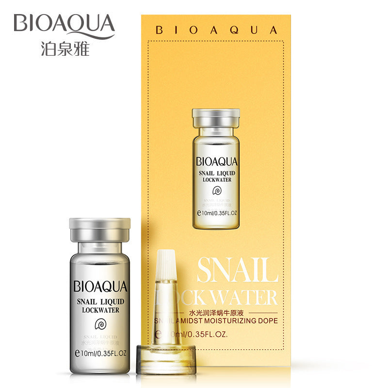 BIOAQUA Snail Serum Amidst Moisturizing Dope Whitening Anti Aging Anit wrinkles Snail Essence Cream Moisturizing Face Cream