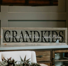 Load image into Gallery viewer, Grandkids Names Custom
