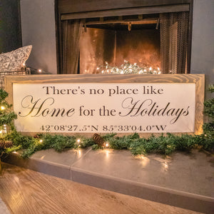 Home For The Holidays With Coordinates