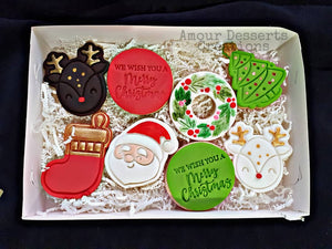 Fondant Christmas Cookies by Amour Desserts