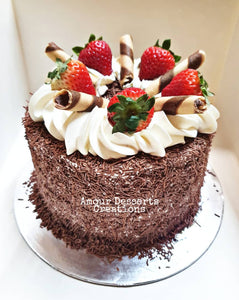 Black Forest Melbourne Cake Delivery by Amour Desserts