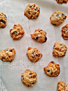 Crunchy Choco Fruits & Nuts Cookies (30pcs)