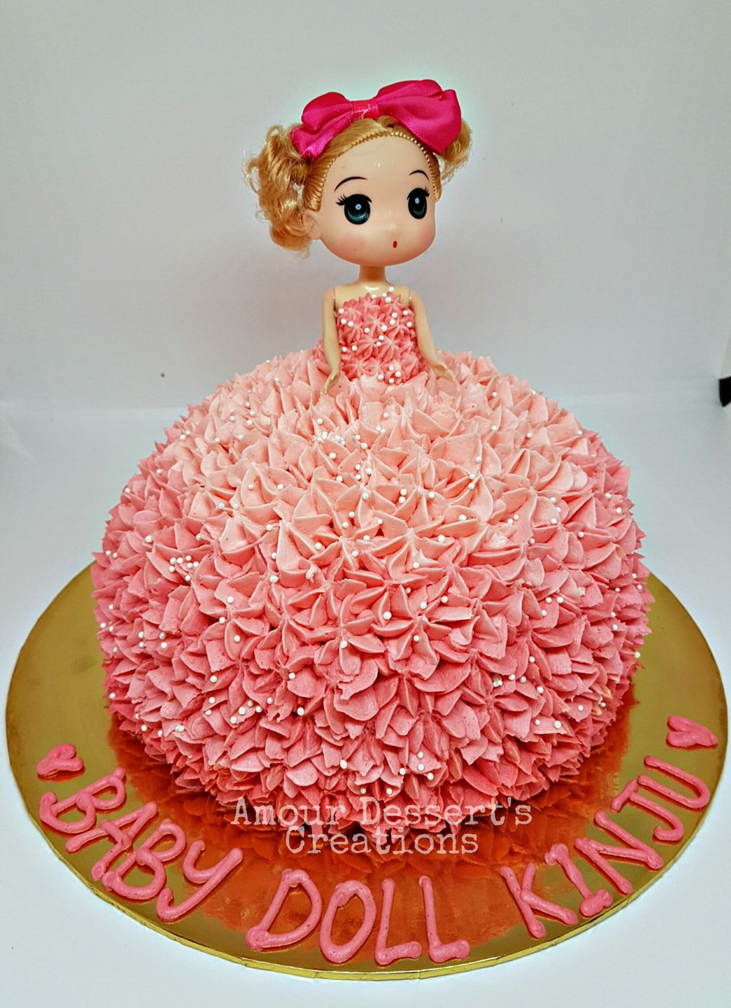 3D Doll Princess Cake