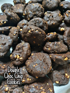 Double Chocolate Chip Cookies Delivery by Amour Desserts