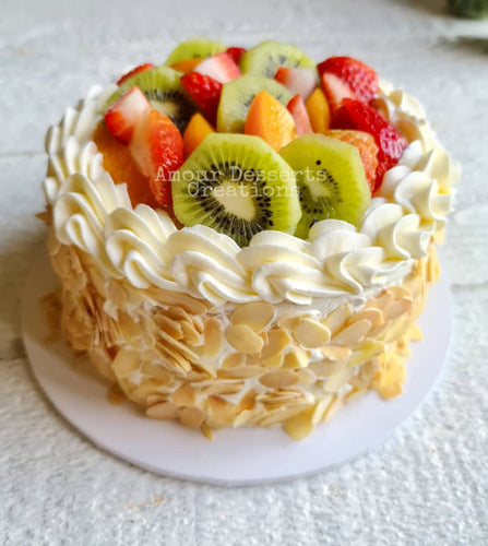Fresh Fruit Gateux Cake