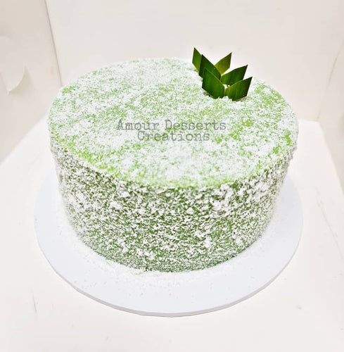 Pandan Layer Birthday Cake (Round)
