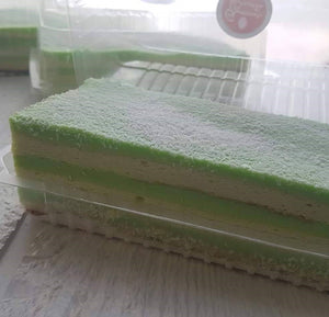 Pandan Layer Cake (Loaf)