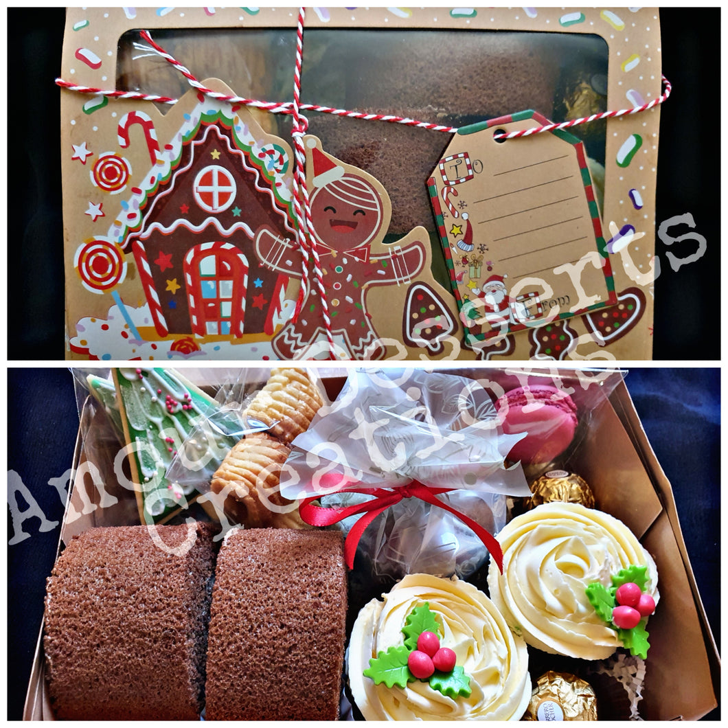 Assorted Christmas Dessert Box