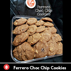 Ferrero Chocolate Chip Cookie