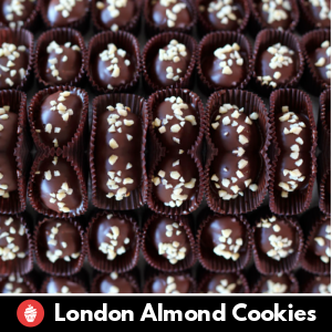 London Almond Cookies