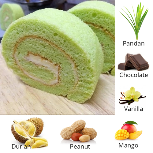 Assorted Swiss Rolls (Loaf)