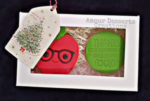 Thank You Teacher Cookies by Amour Desserts