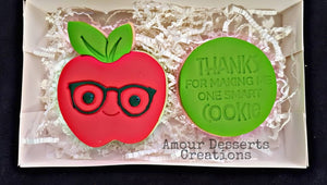 Thank You Teacher Cookies Delivery in Melbourne