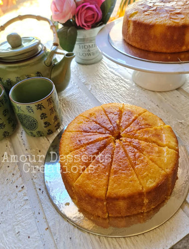 Traditional Sugee Cake