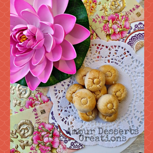 Traditional Peanut Cookies (30pcs)