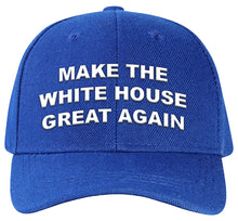 Load image into Gallery viewer, Make the White House Great Again baseball cap.  Vote Dem! on back.