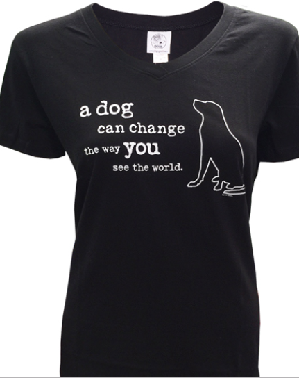 Dog is Good - A Dog Can Change the World Women's Tee