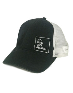 "Dog is Good ""No Dog Left Behind"" Hat"