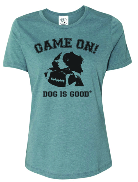 Dog is Good - Game On Women's Short Sleeve Tee