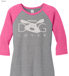 Dog is Good - Dog Lover Raglan Women's Tee Shirt