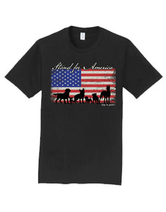 "Dog is Good ""Stand For America"" Tee Shirt"