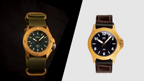 Bronze vs Brass Watch