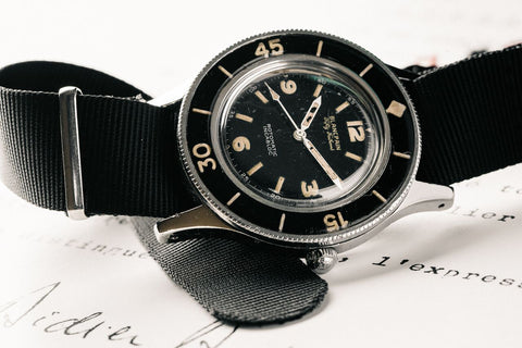 history of dive watches