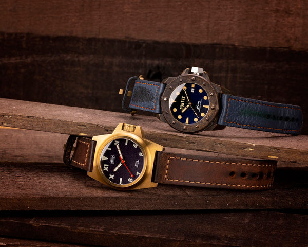 bronze vs stainless steel watch case