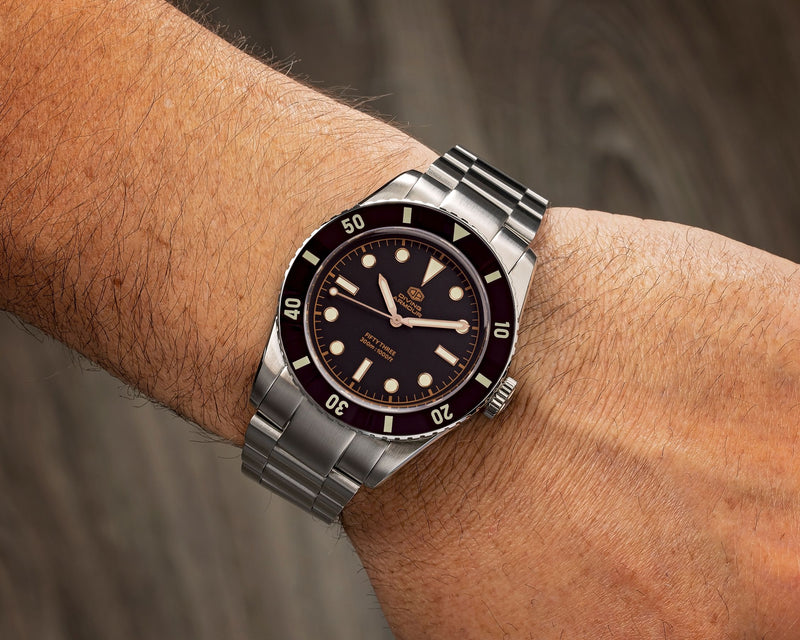 Diving Armour: Sub Fifty-Three - PONTVS Watch Co.
