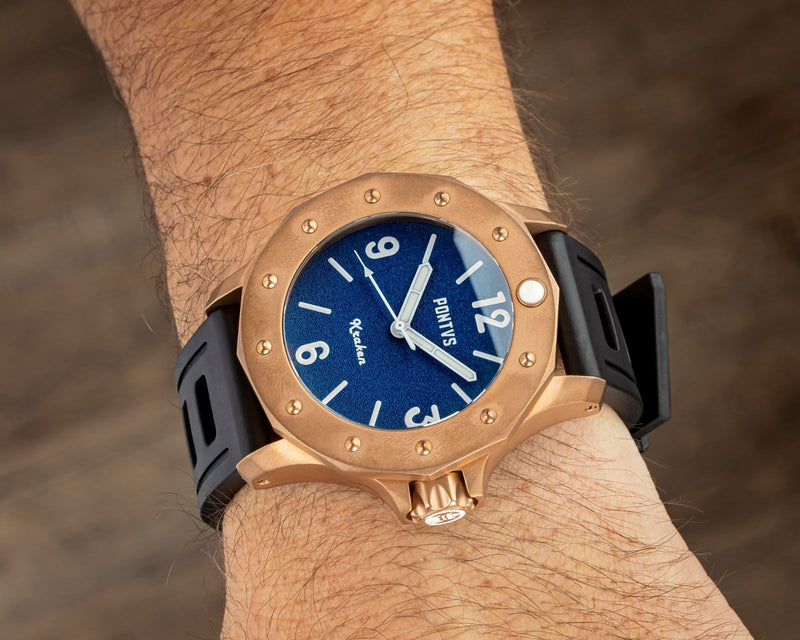 Pontvs Kraken | 45mm Bronze Dive Watch for Men - PONTVS Watch Co.