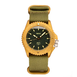 Pontvs Hydra Green | Brass Dive Watch | Affordable watch under 500 USD