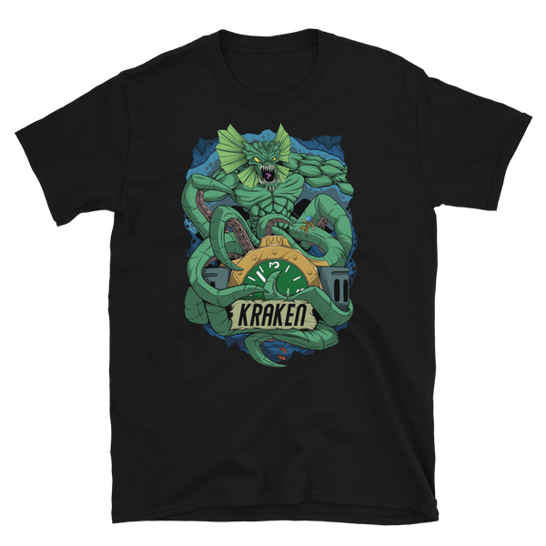 Kraken Short-Sleeve T-Shirt - PONTVS Watch Co.