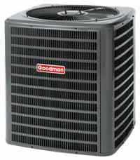 Goodman A/C Condensers 13 or 14 SEER, R-410A Chlorine-Free Refrigerant
