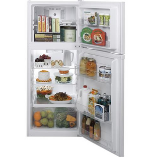 GE® ENERGY STAR® 11.6 cu. ft. Top-Freezer Refrigerator, GPE12F