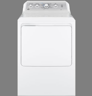 GE 7.2 cu. ft. capacity Electric Dryer with HE Sensor Dry - GTD45EASJWS
