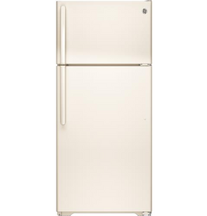 GE ENERGY STAR 15.6 Cu. Ft. Top-Freezer Refrigerator, GTE16D
