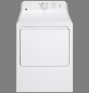 GE 6.2 cu. ft. capacity DuraDrum™ electric dryer, GTX22EASK