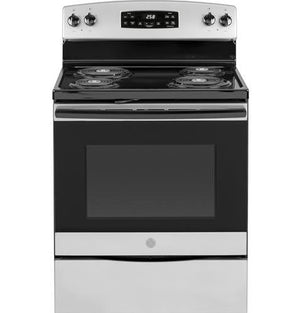 "GE 30"" Electric Range, Self-Cleaning, JB258D"