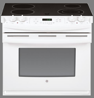 "GE 30"" Drop-In Electric Range, Self-Cleaning, JD630D"