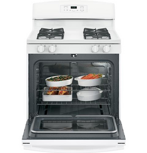 "GE  30"" Gas Range, Self-Cleaning, JGB635"