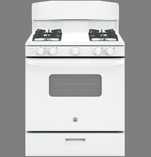 "GE  30"" Gas Range, Manual Clean, JGBS10DE"