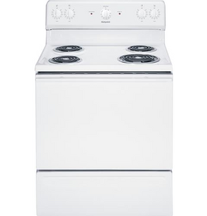"Hotpoint 30"" Free-Standing Electric Range, RBS160"