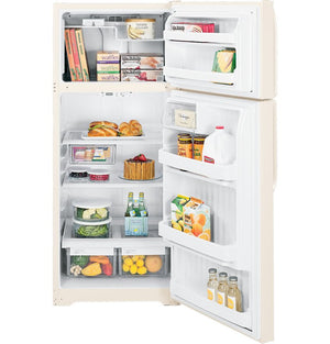GE Top Freezer has ample space and ease of access