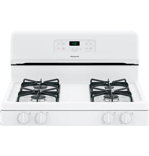 "Hotpoint® 30"" Free-Standing Standard Clean Gas Range, RGBS400D"