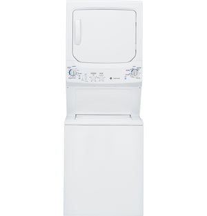 GE Unitized Spacemaker- 3.2 DOE cu.ft Washer and 5.9 cu ft GAS Dryer, GUD27G