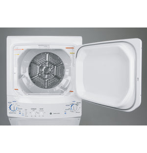 GE Unitized Spacemaker,3.2 cu ft Washer & 5.9 cu. ft. ELECTRIC Dryer, GUD27E